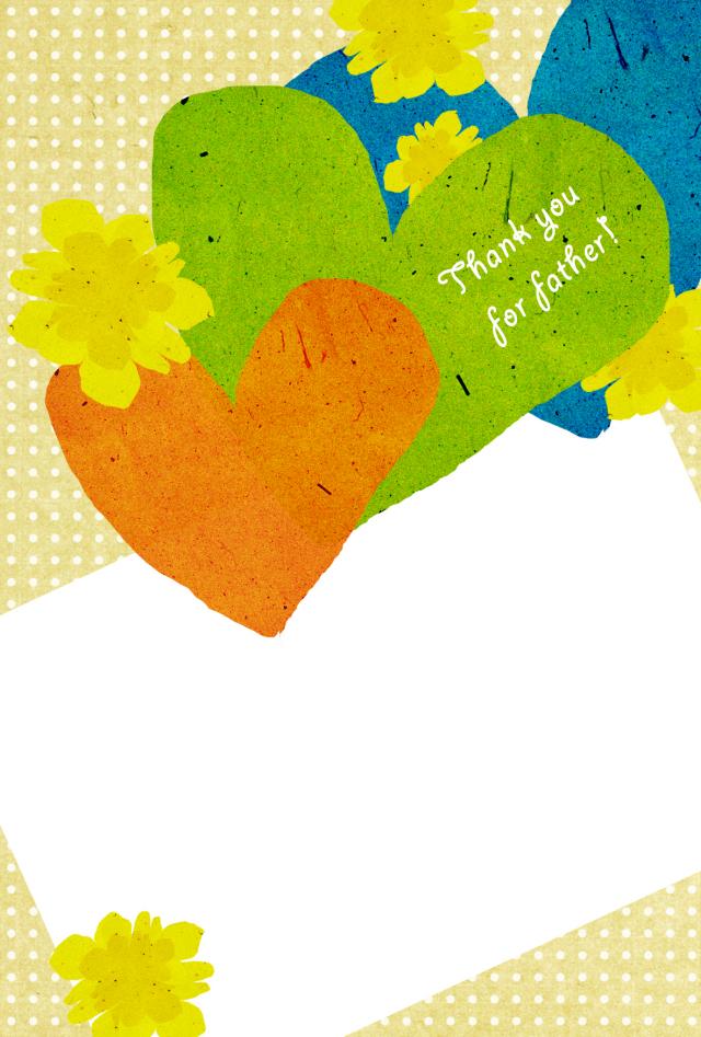 父の日メッセージカード001