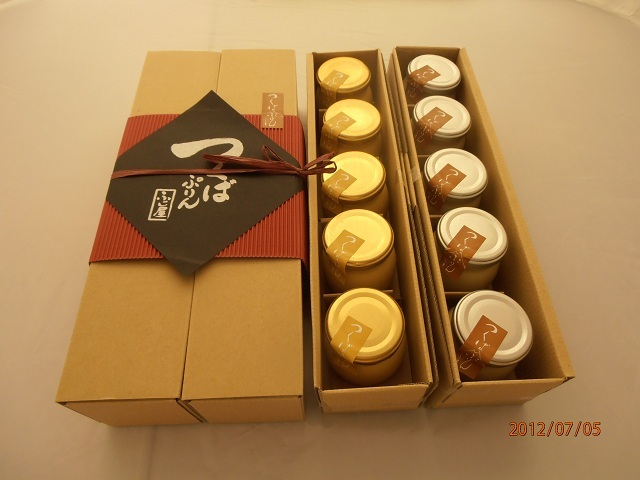(ゴールドプリン5個)(生キャラメルプリン5個)の2種類の味が楽しめる贅沢なセットです!
