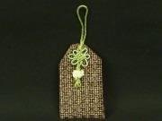 大島紬のお守り袋(厄除けの塩入り)
