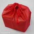 お重用巾着袋7.5寸レッド