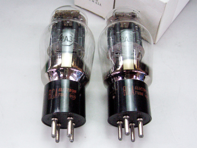 RCA 2A3 (MP) ブラックプレート
