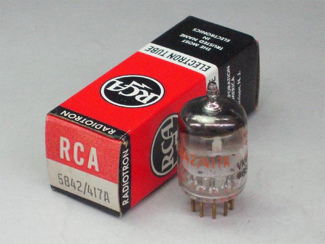RCA 5842/417A