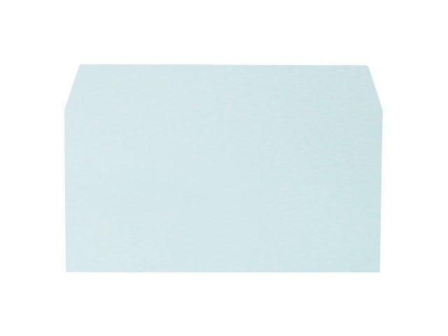 洋0封筒 カマス貼 洋長3(中身が見えない) プラテクトブルー 100g 500枚(YS0800)