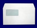 洋長3封筒 セロ窓付 洋0カマス貼 洋長3(中身が見えない) プラテクト白菊 100g 500枚(YS0832)