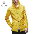 RAINS (レインズ) レインジャケット レインコート ウォータープルーフ ジャケット / Rains Jacket - YELLOW