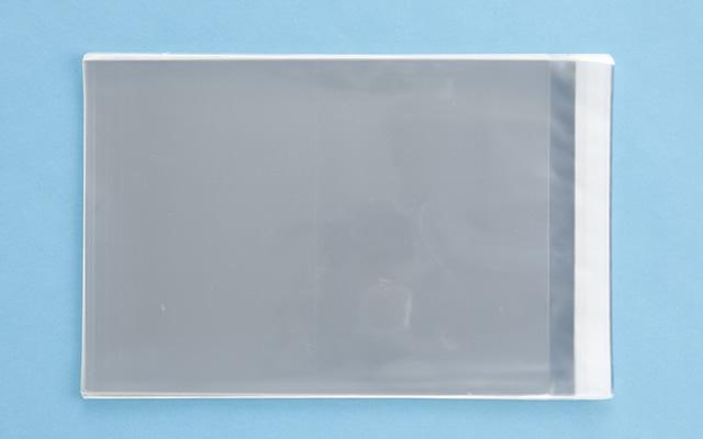 OPP袋 テープ付タイプ フィルムの厚み30μ 225×310ミリ 100枚入り (定形サイズ A4用)