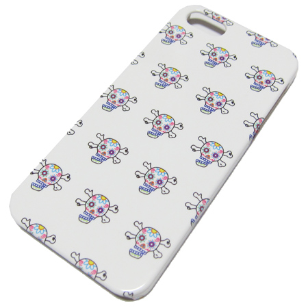 SKULLKICKS iPhone 5/5s CASE mexican skull embroidery