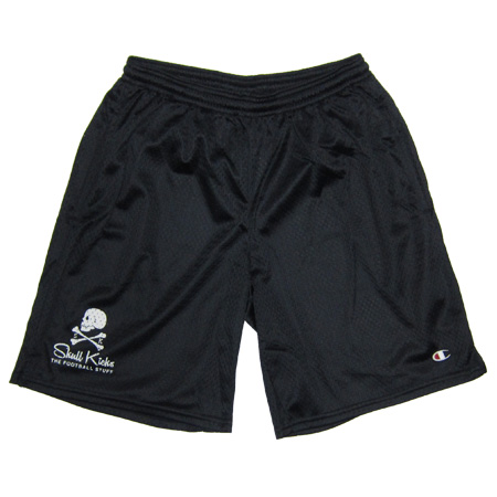 【ラスト1点】 SKULLKICKS X CHAMPION MESH PANTS BLACK