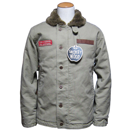 SMOKEYWOOD N1 TYPE JKT KHAKI