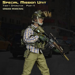 【EASY&SIMPLE】26019A SMU Tier-1 Operator Part IV Urban Warfare 1/6フィギュア