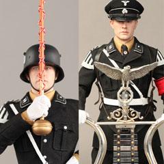 【3R】GM631Jarman Musikkorps der SS Volume 4 Glockenspiel & Tambourmajor WW2 ドイツ軍 SS 軍楽隊