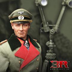 【3R】GM636 WW2 Erwin Rommel Atlantic Wall 1944 Generalfeldmarschall 大西洋の壁 ドイツ軍 エルヴィン・ロンメル元帥