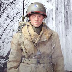 【DID】A80115S アメリカ陸軍 第29歩兵師団 通信兵 ポール クリスマス版