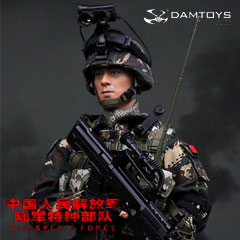 【DAM】No.78022 CHINESE PEOPLE'S LIBERATION ARMY SPECIA FORCES - RECON 中国人民解放軍 陸軍特殊部隊 偵察兵 1/6フィギュア