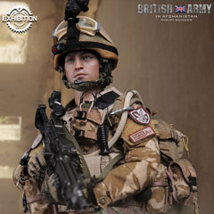 【DAM】78036 BRITISH ARMY IN AFGHANISTAN MINIMI GUNNER 2016 広州CICF限定 イギリス陸軍 ミニミガンナー 1/6フィギュア