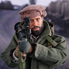 【DID】I80112 The Soviet-Afghan War 1980s Afghanistan Civilian Fighter - Arbaaz アフガニスタン紛争 アフガン民兵 アルバーズ