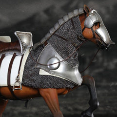 【COO】SE014 1/6 SERIES OF EMPIRES - Armored Norman Steed  軍馬 1/6スケールフィギュア