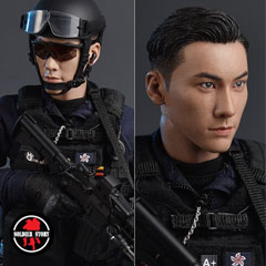 【Soldier Story】SS103 Hong Kong SAR's 20th Anniversary Commemorative edition  1/6 ASU (Airport Security Unit)