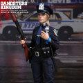 【DAM】GKS003 Gangsters Kingdom SIDE STORY:OFFICER A.LEWIS ルイス 女性警察官 1/6フィギュア