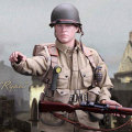 【DID】A80097 NORMANDY 70TH ANNIVERSARY EDITION 101st AIRBORNE DIVISION Ryan アメリカ軍 第101空挺師団 ライアン