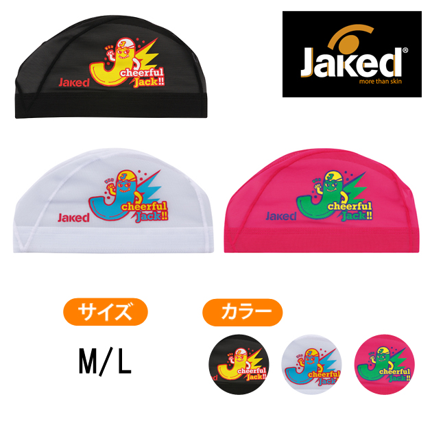 【Jaked】2016SS プリントメッシュキャップ Jackくん 830123 M・L