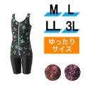 【うきうき屋】ゆったり水着 セパレーツ M〜3L 256229