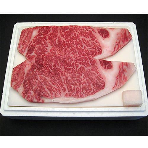 【特価品】特選山形牛[ロースステーキ]200g×2枚