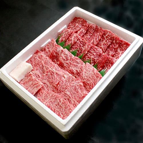 【特価品】特選山形牛焼肉セット[モモ・バラ各250g]