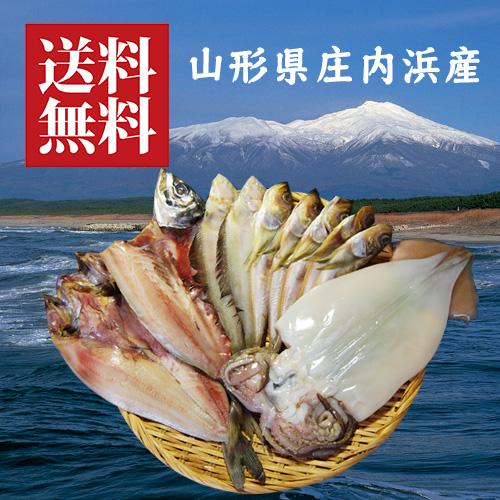庄内浜の干物5種