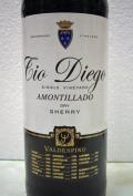 シェリー酒 バルデスピノ・ティオ ディエゴ アモンテリャード Valdespino