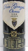 シェリー酒 バルデスピノ ドン・ゴンザロ オロロソ