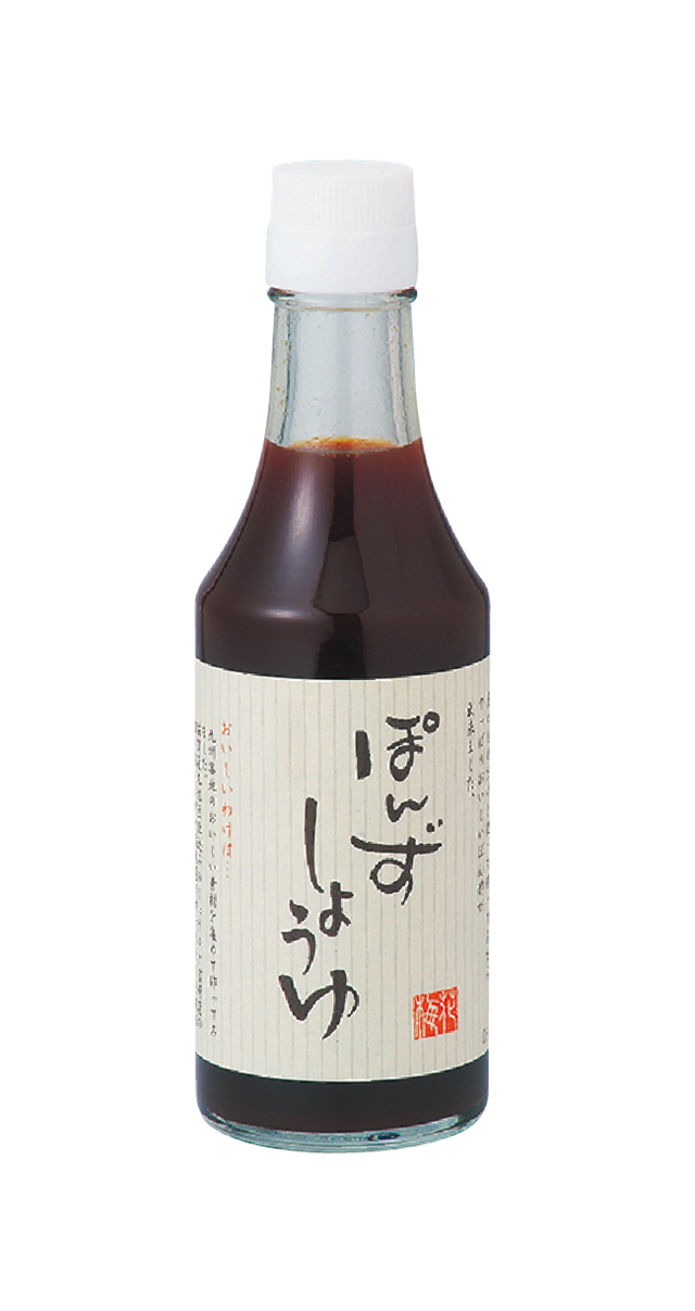 梅の花特製ぽんずしょうゆ (商品番号:100457)