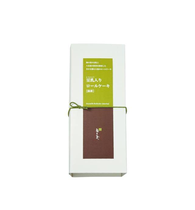 豆乳入りロールケーキ(抹茶) (商品番号:101001)