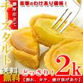 チーズタルト2kg(約50個)濃厚 送料無料