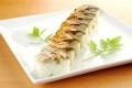 焼き鯖棒寿司 (八貫)