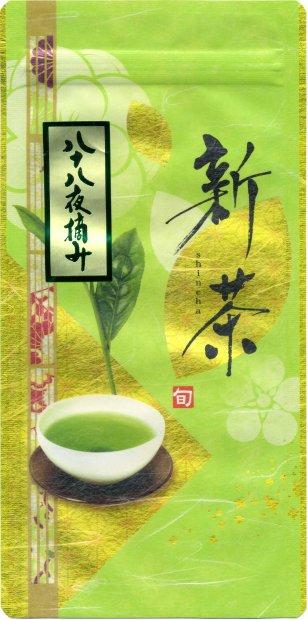 八十八夜摘み新茶100g入×5本+1本サービス