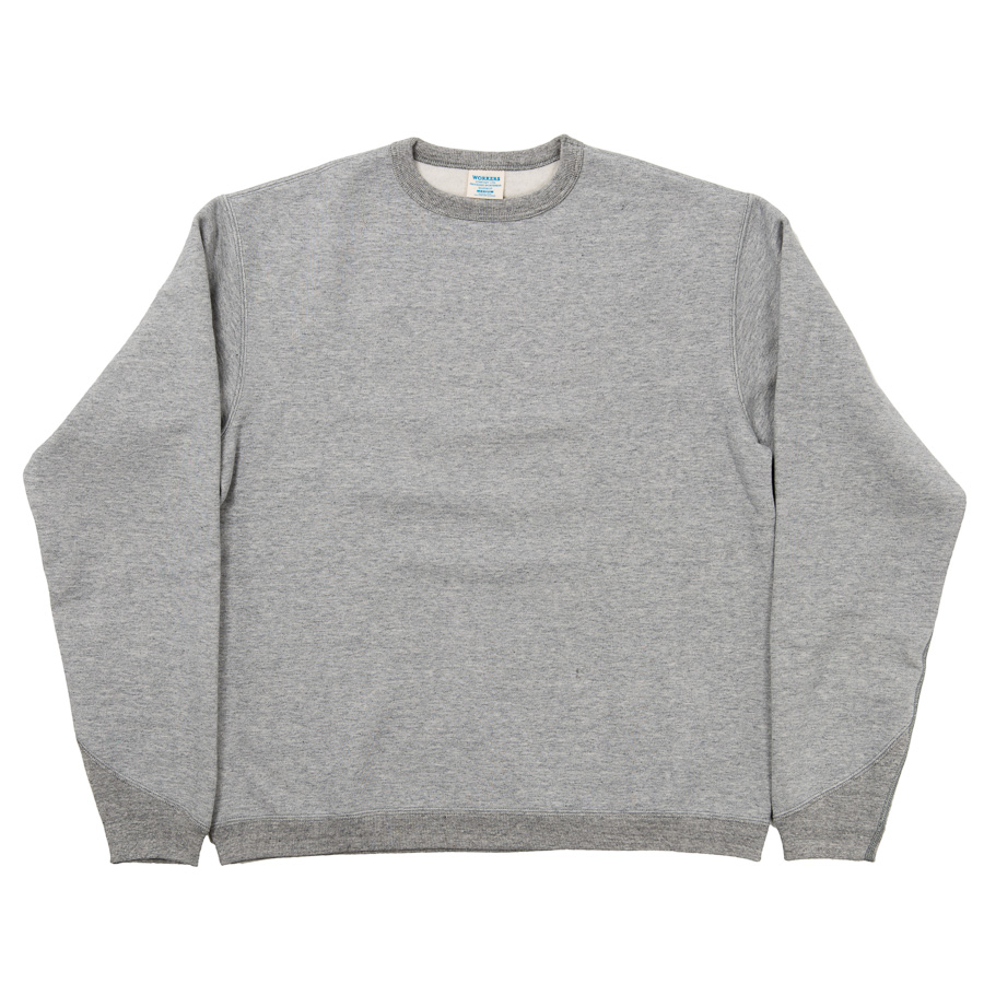 Crew Sweat Shirt Grey