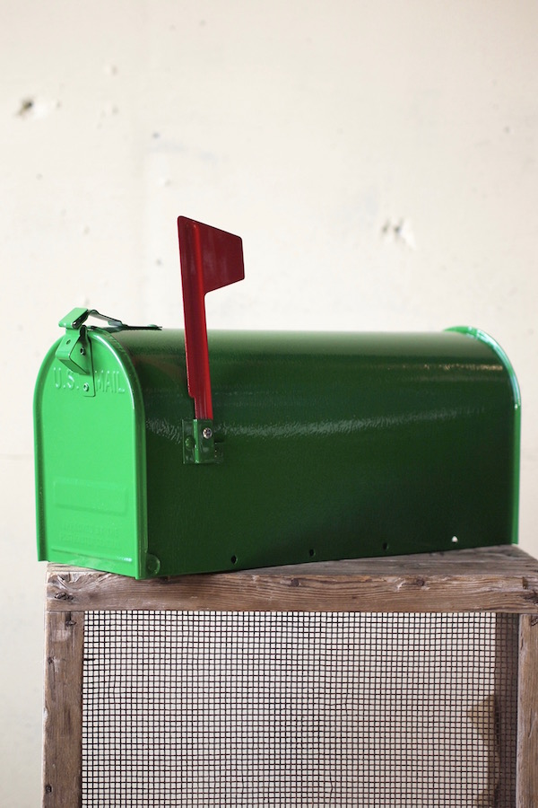 [Fulton] US Mailbox, Green-1