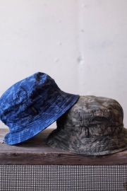 Decho Safari Bucket Hat Leaf Camo-1