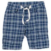 EZ Shorts Indigo Check