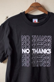 GMT (General Mean T-Shirts) No Thanks Black-1