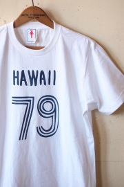 GMT Printed Tee Hawaii 79 White-1