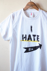 GMT Printed Tee I Hate Him White-1