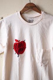 Mixta Printed Pocket T-Shirt, NY Apple-1