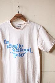 Mixta (�ߥ�����) Printed T-Shirt Feel Good Natural-1