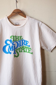 Mixta (ミクスタ) Printed Tee The Empire State Natural-1