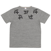 T-Shirt Floral Grey