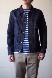TCB jeans 30's JKT 1st Type 12.5oz Denim-1
