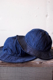 TCB jeans 30's Hat (US.Army Hat) Denim-1