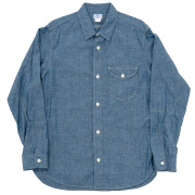 Work Shirt Blue Chambray